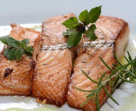 salsa salmon limon